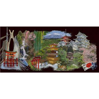 Borduurpakket Japan Black Collection - Thea Gouverneur