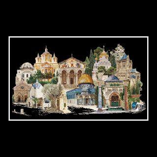 borduurpakket Jeruzalem Thea Gouverneur