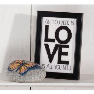 Borduurpakket All you need is love - Permin