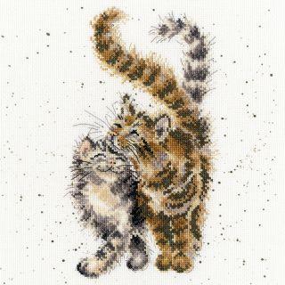Borduurpakket Feline Good - Bothy Threads