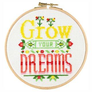 Borduurpakket Grow your dreams - Stitchonomy