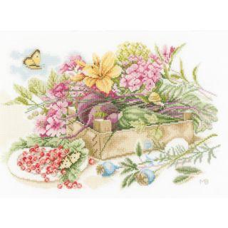 Borduurpakket In the garden - Marjolein Bastin