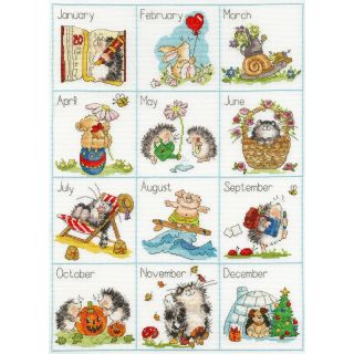 Borduurpakket Calendar - Bothy Threads