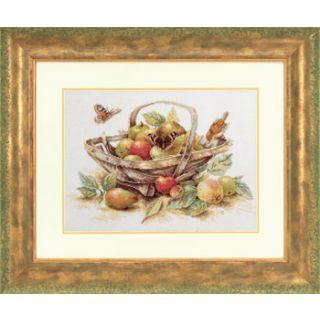 Borduurpakket Mand met zomerfruit - Marjolein Bastin