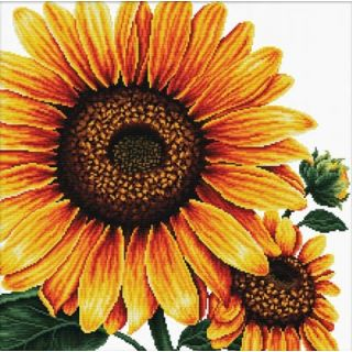 Borduurpakket Sunflower voorbedrukt - Needleart World