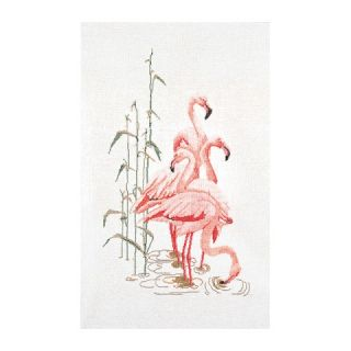 Borduurpakket Flamingo's Aida - Thea Gouverneur