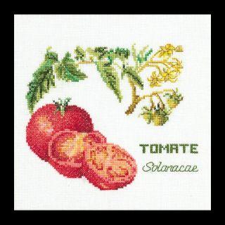 Borduurpakket Tomaten Linnen - Thea Gouverneur