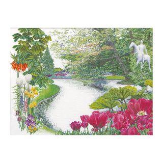 Borduurpakket Keukenhof Garden Aida - Thea Gouverneur