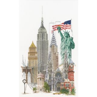 Borduurpakket New York Aida - Thea Gouverneur