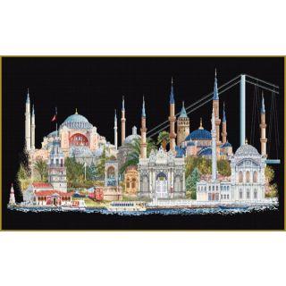 Borduurpakket Istanbul Black Collection - Thea Gouverneur