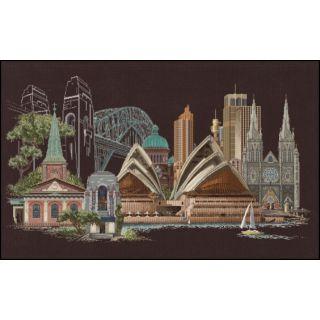 Borduurpakket Sydney Black Collection - Thea Gouverneur