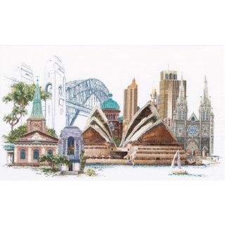 Borduurpakket Sydney Aida - Thea Gouverneur