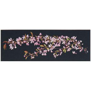 Borduurpakket Japanse Bloesem (Sakura) Black Collection - Thea Gouverneur