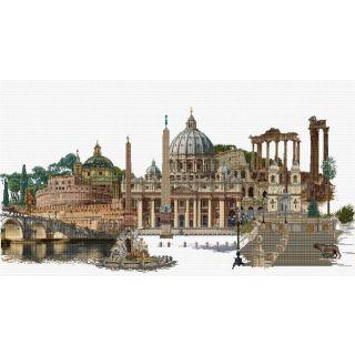 Borduurpakket Rome Aida - Thea Gouverneur