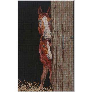 Borduurpakket Paard en veulen - Thea Gouverneur